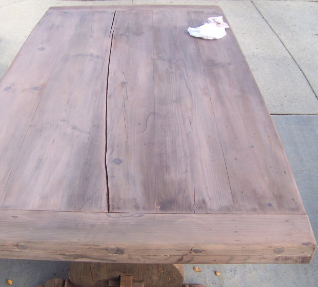 wood stain wax