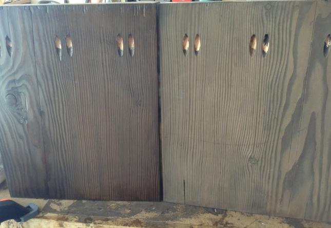 Dark Charcoal Wood Stain Polite33dlh