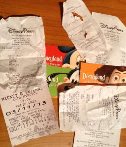 Here is some of the damage done to our bank account. But it was worth it. We just won't be going as often as we'd like.