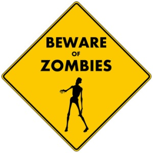 I've been watching too many Walking Dead episodes. © Jeffrey Collingwood - Fotolia.com